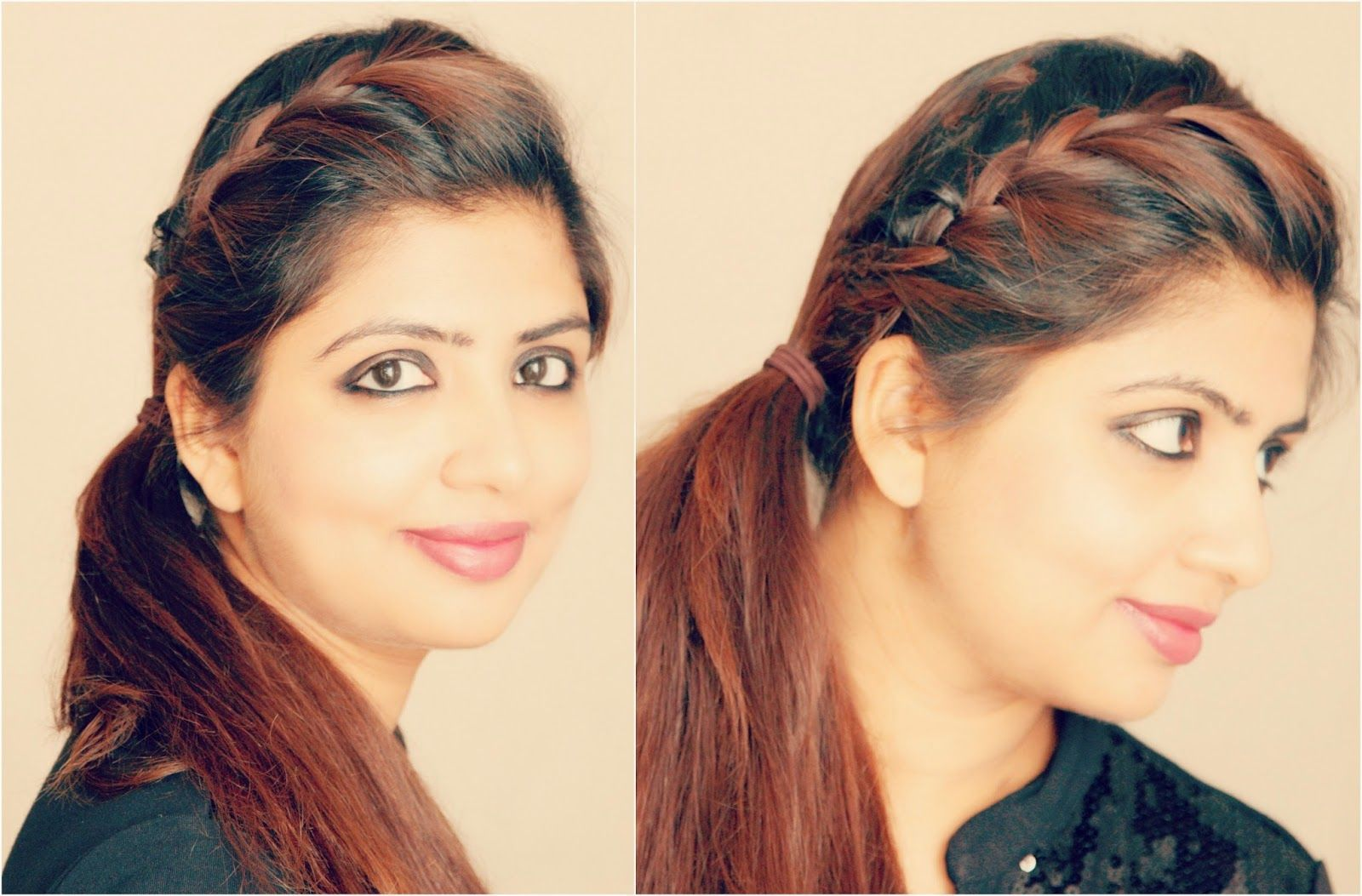 French_braid_side_ponytail_hairstyle_tutorial-final.jpg (1600×1053) | Side ponytail hairstyles ...