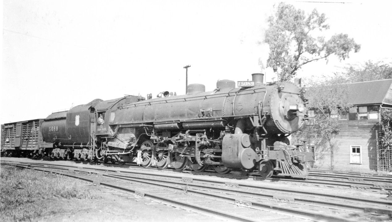 Union Pacific 2-10-2 No.5089 | Union pacific railroad, Steam ...