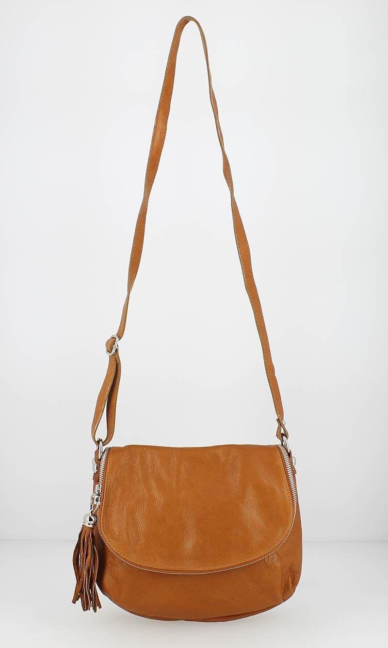 016a96ed0c Sac Besace KATANA cuir -Camel face   MERIEM TENDANCE   Fashion, Bags ...