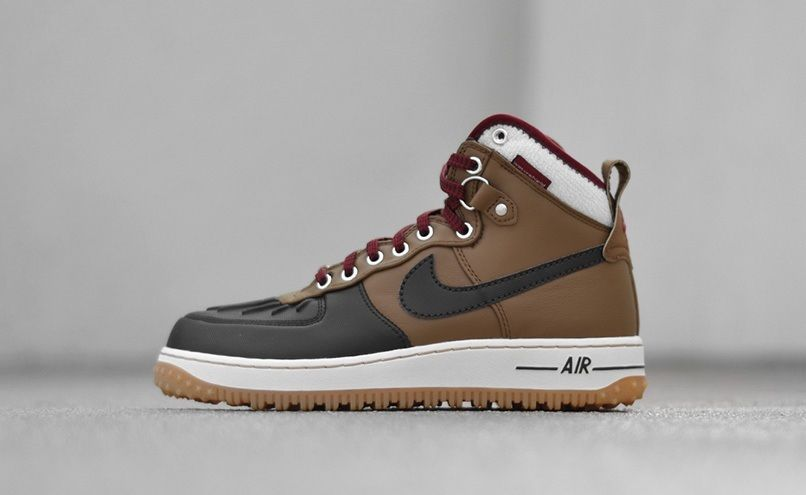 Nike Air Force 1 DuckBoot: Velvet Brown