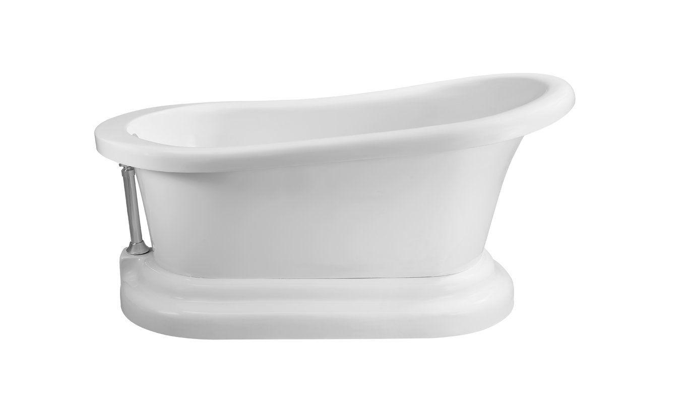 60 X 32 Freestanding Soaking Bathtub Soaking Bathtubs Bathtub Free Standing Tub