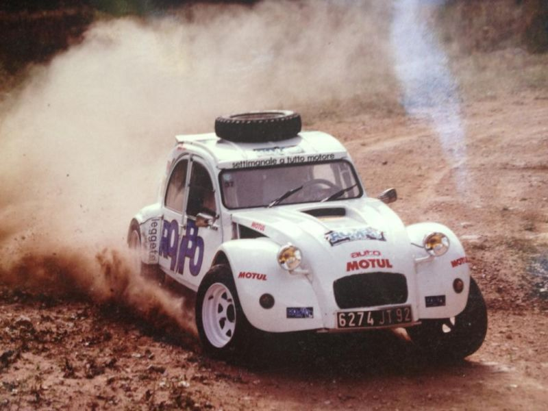 Twin-Engine Citroen 2CV Rally Car | Vintage Rally | Pinterest ...