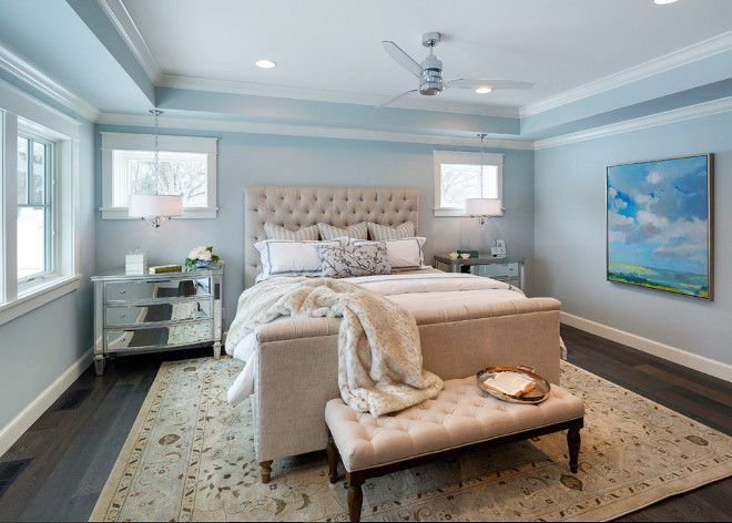 "Bedroom Paint Colors Benjamin Moore luxurious cottage interiors - ""master bedroom paint color"
