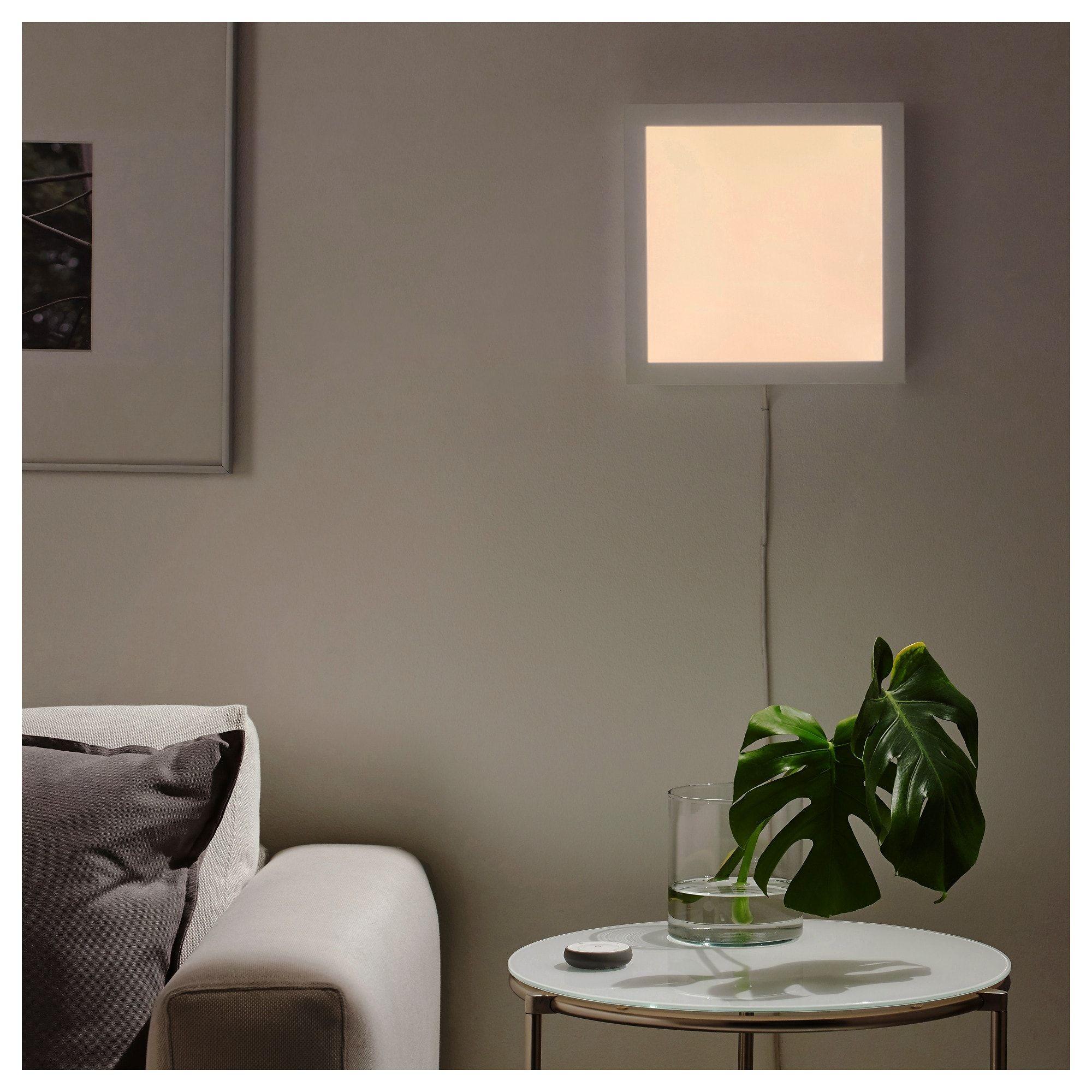 Floalt Led Lichtpaneel Dimmbar Weissspektrum Ikea Led Led Leuchten Lichtplatte