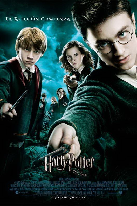 Harry Potter Y La Orden Del Fenix Harry Potter 5 Harry Potter Order Harry Potter Poster