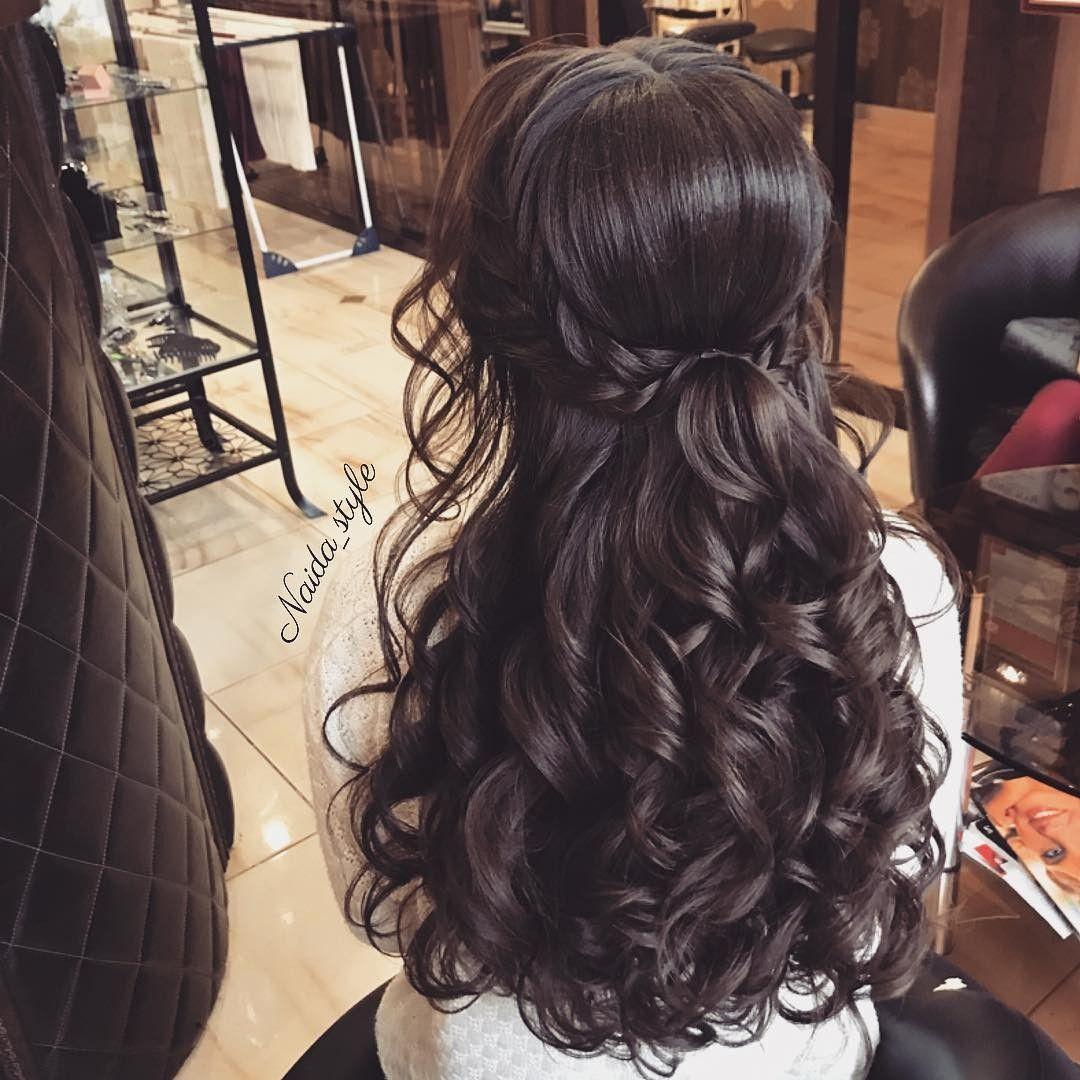 Pin De Ana Rut En Cabello Peinados Formales Sueltos Peinado Cabello Largo Peinados Elegantes