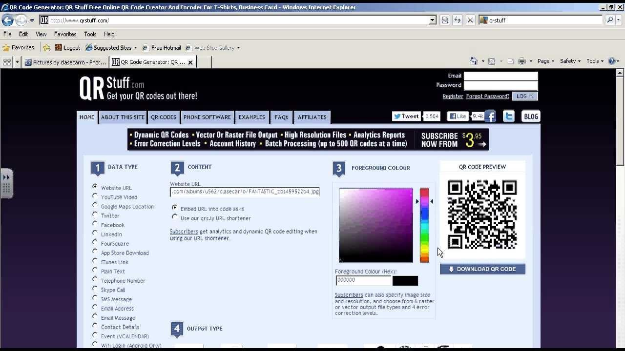 How to Attach an Image to a QR Code   QR Codes for Kids   Pinterest ...