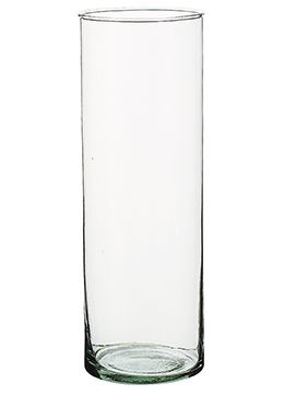 4 99 Sale Price This Simple 10 5 Glass Tube Can Be Utilized In A Myriad Of Ways Made Of 100 Recycled Glas Cylinder Vase Recycled Glass Vases Recycled Glass