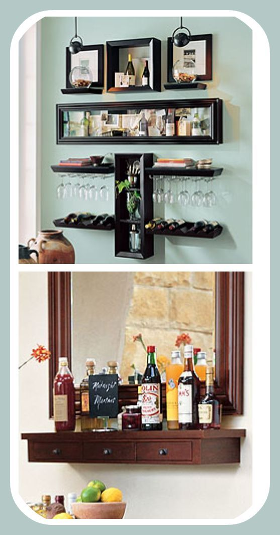 Una alternativa al mueble bar tradicional latino living for Estilo hogar muebles