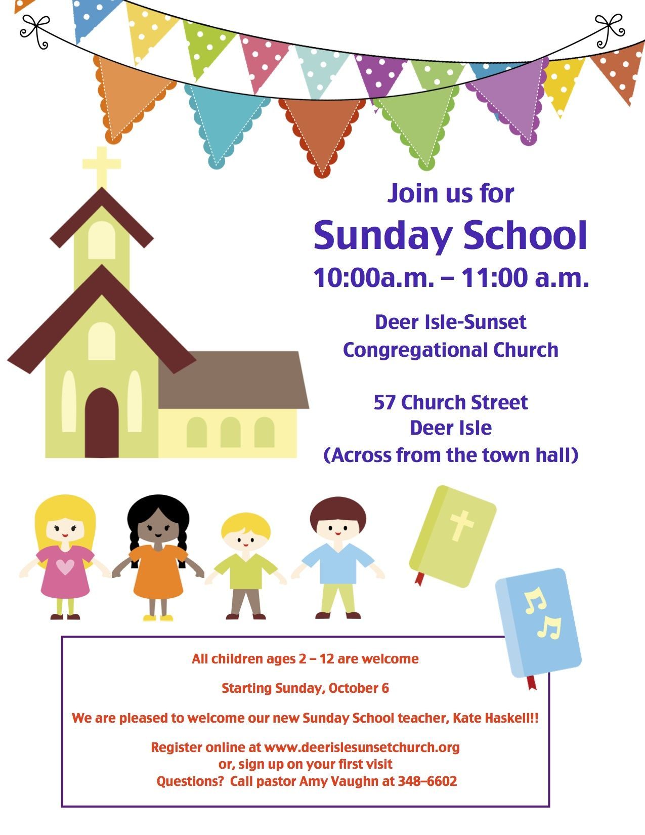 Sunday School Invitation Flyer  Google Search  Childrens Church