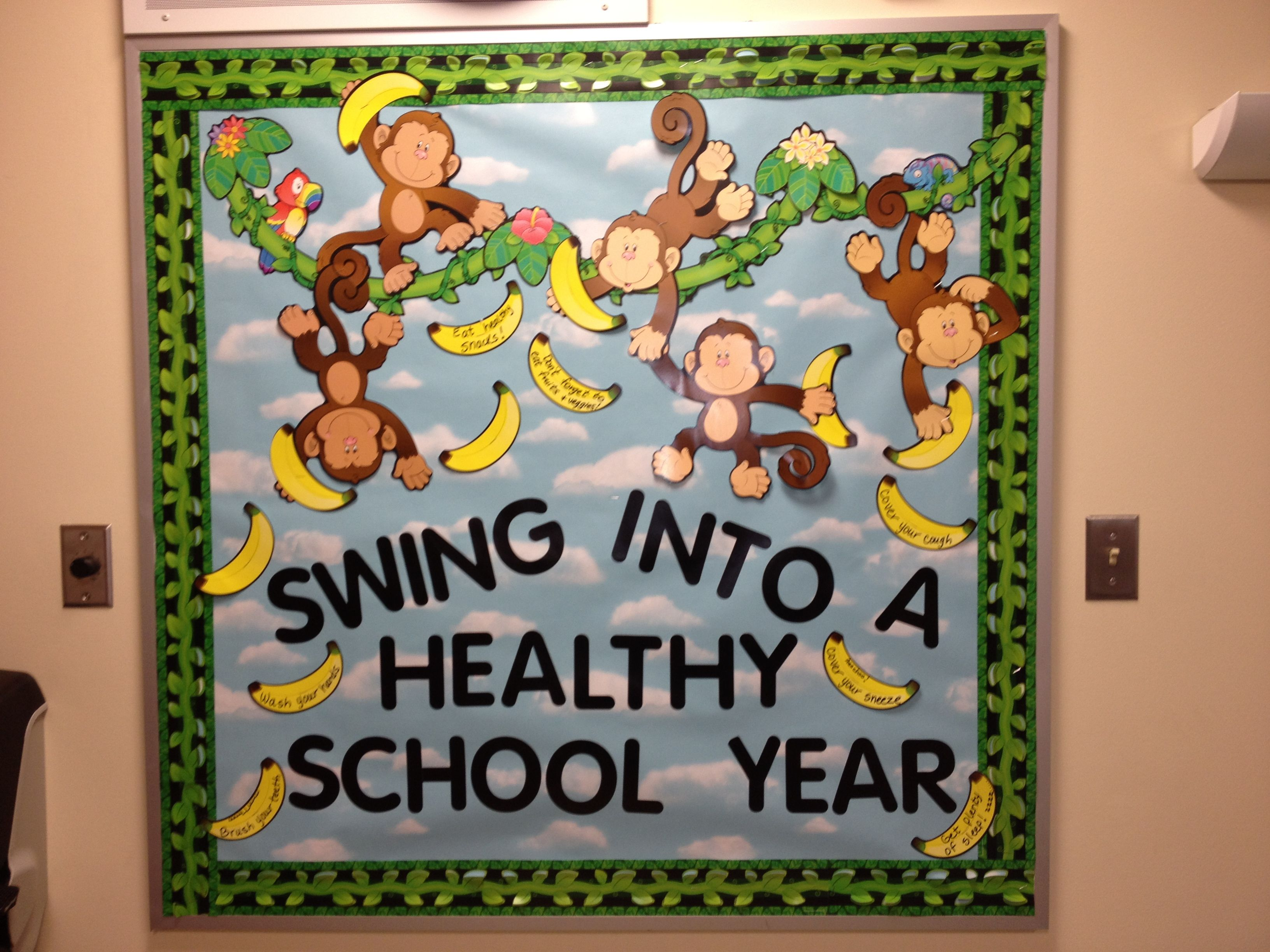 Go green vegetable bulletin board idea myclassroomideas com - 17 Best Ideas About Nurse Bulletin Board On Pinterest Classroom 3264x2448 Jpeg