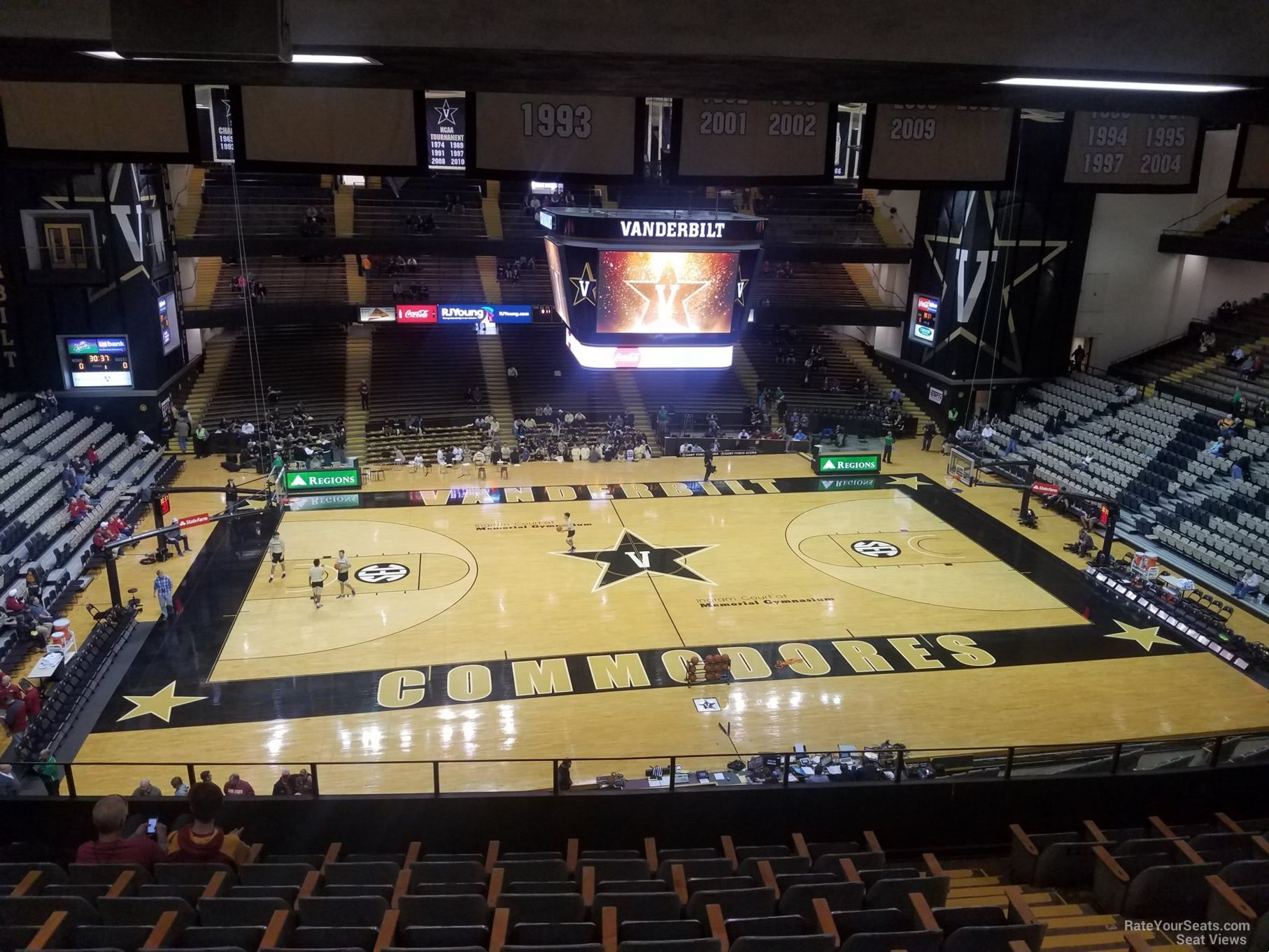 Image Result For Memorial Gymnasium Seating Charts Vanderbilt Dream House Plans