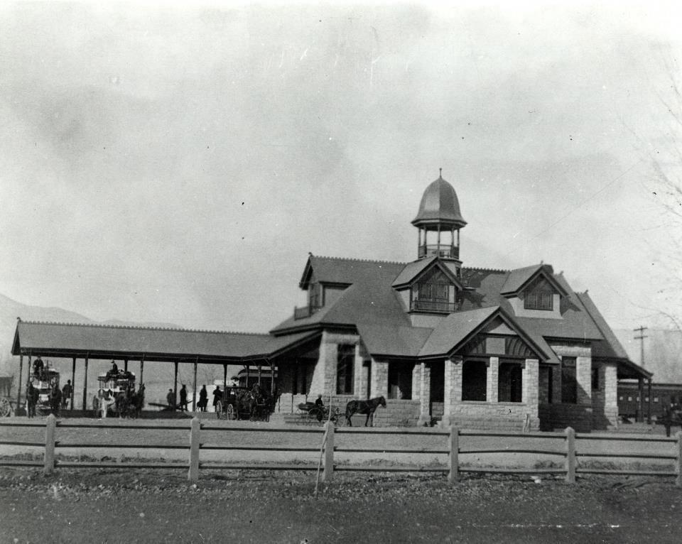 Denver rio grand depot in colorado springs 1871
