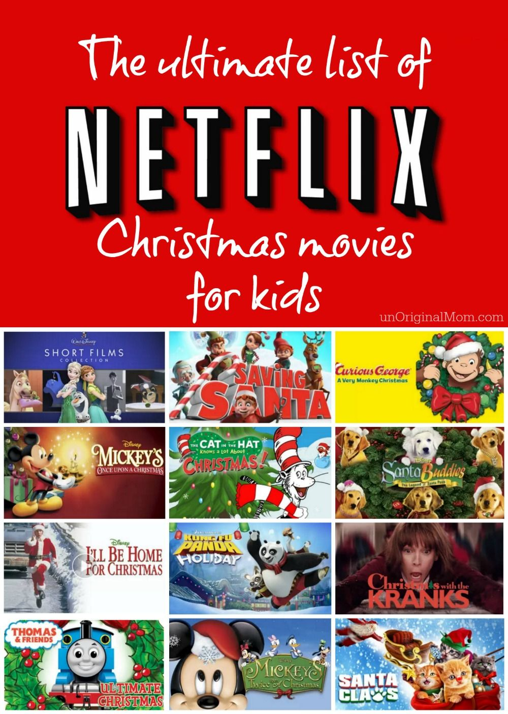Netflix Christmas Movies for Kids Kids christmas movies