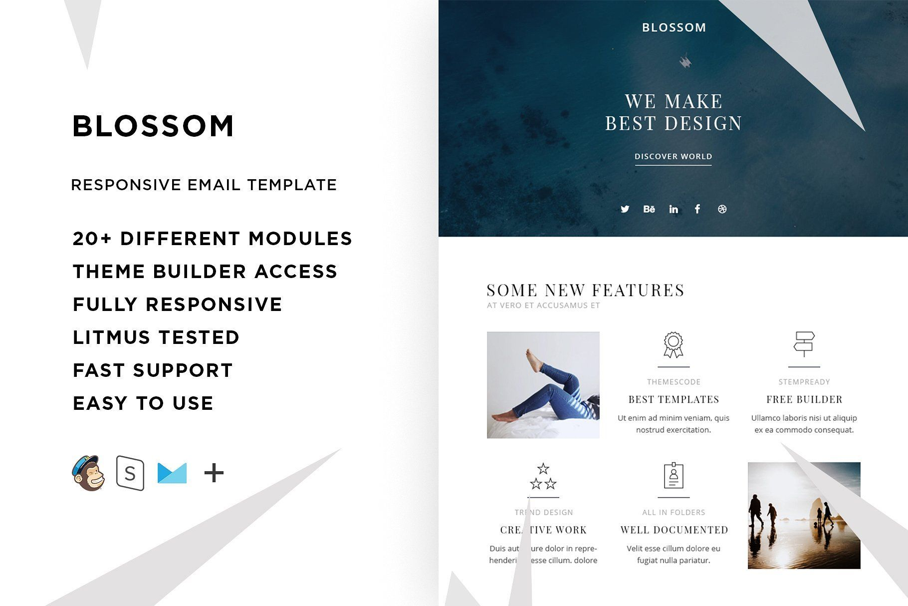 Blossom Responsive Email Template Responsive Email Template