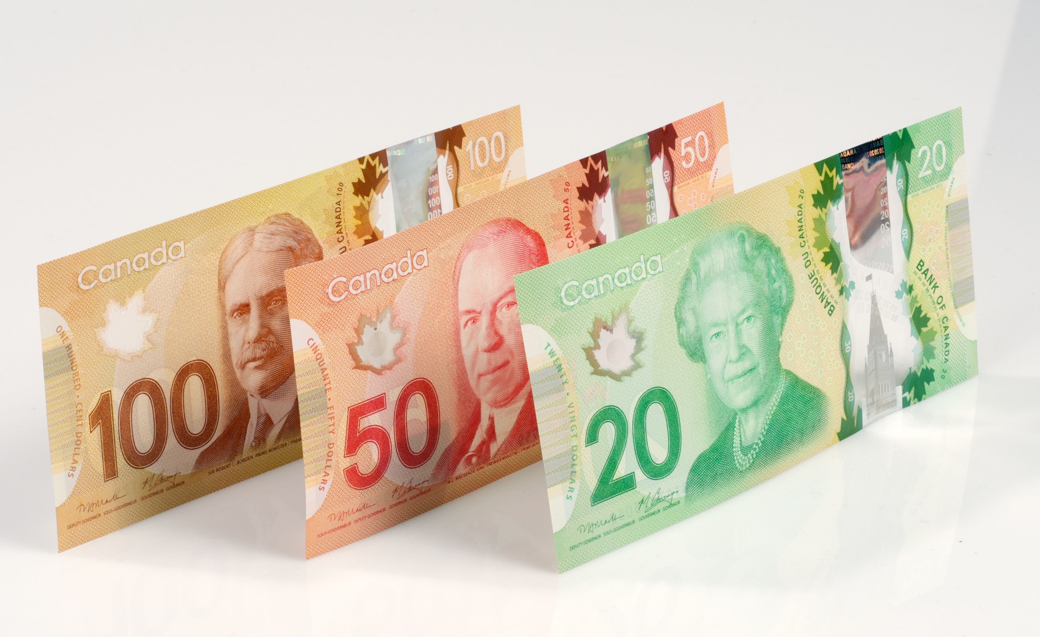 New Canadian 100 50 20 Payday Payday Loans Bank Notes
