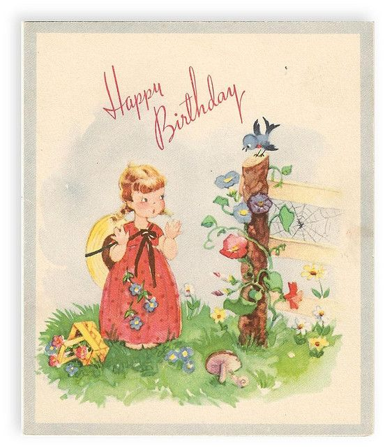 Birthday Card 1944 Vintage Birthday Vintage Birthday Cards Birthday Cards