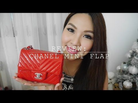 f2a971bb2ea54d Review: Chanel Mini Flap♥WIMB+How to wear+WOC  Angelbirdbb - YouTube
