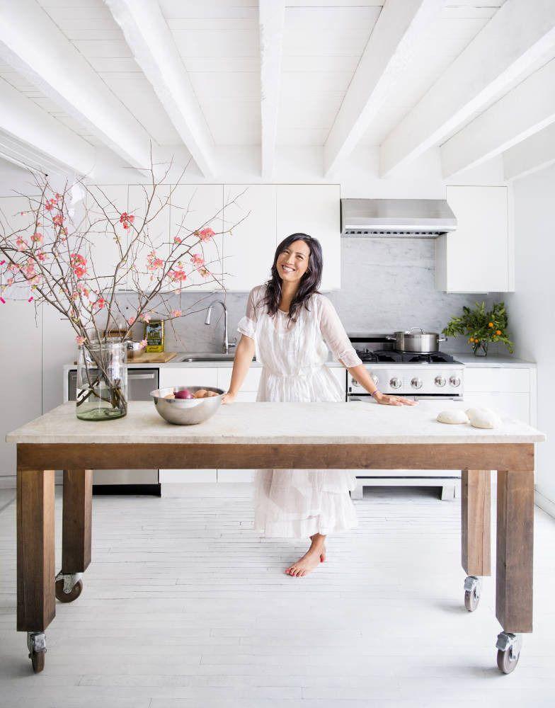 Lookslikewhite Blog Industrial Kitchen Island Kitchen Island Table My Scandinavian Home