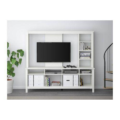 Lappland Tv Storage Unit White Google Search Decorating In 2019