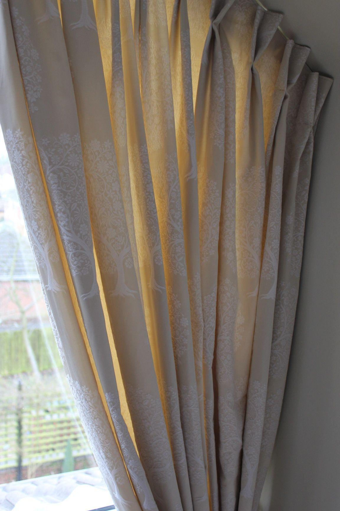 Master bedroom curtains  Apex window treatment master bedroom curtains designed by Just So