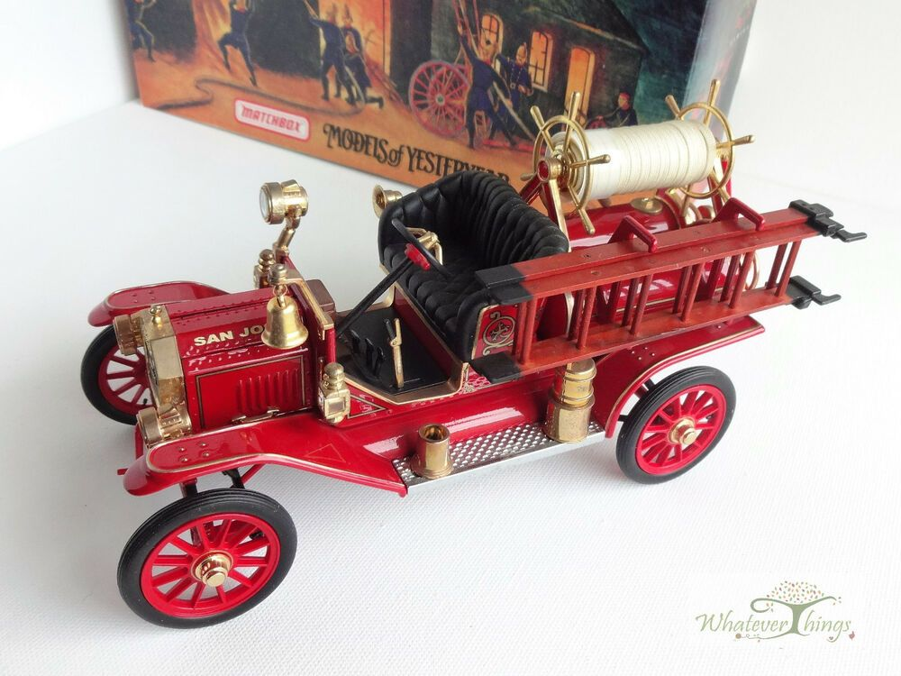 1914 Ford Model T Fire Engine Matchbox Models Of Yesteryear