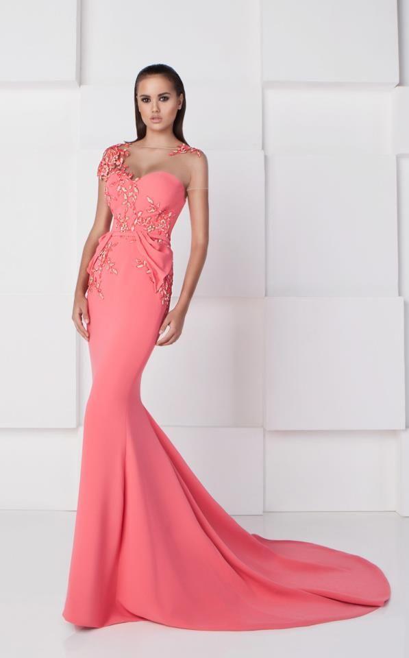 Saiid Kobeisy RE2767 | vestidos | Pinterest | Mermaid silhouette ...