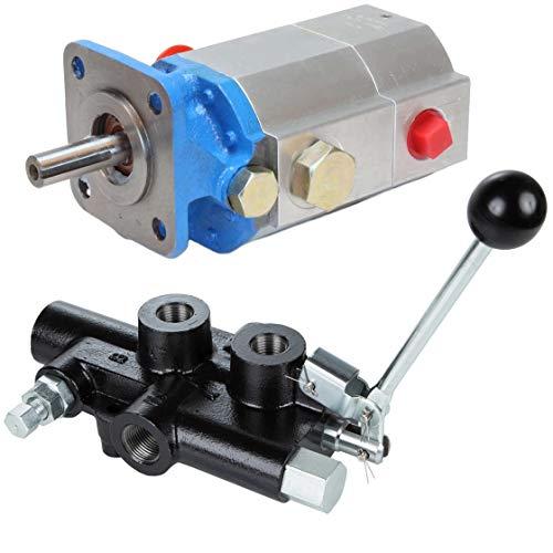 RuggedMade 16 GPM 2 Stage Hydraulic Pump, 25 GPM Auto