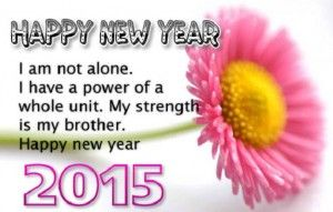 new year quotes for brother 2015