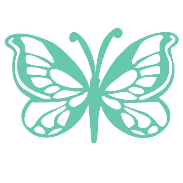 Butterfly Templates | Butterfly Template - From Kaisercraft | Wood