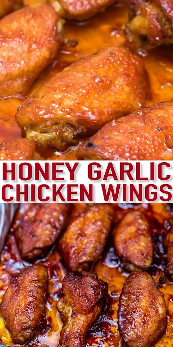 Honey Garlic Chicken Wings - Sweet and Savory Meal