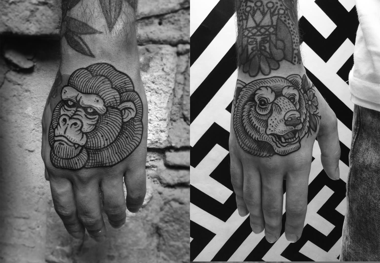 Cisco S Tattoos From 2014 Traditional Bear Tattoo Bear Tattoo Designs Old School Tattoo
