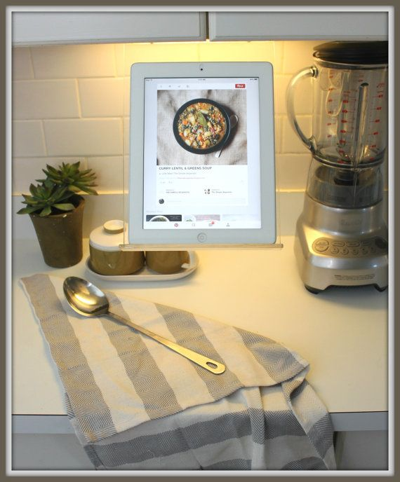 Under Mount Kitchen Cabinet Tablet Ipad Recipe Holder by RKcad on ...