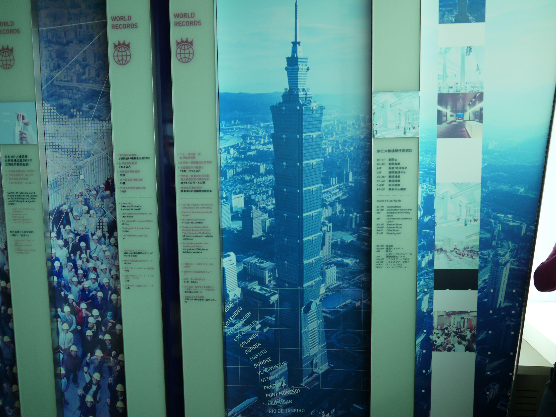 Taipei 101 in Taipei Taiwan