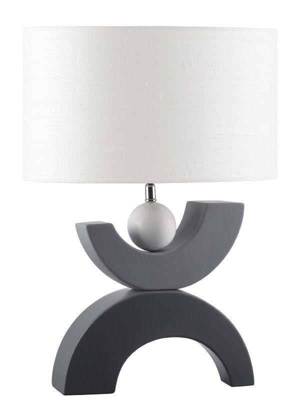 MooiMaak gris Iluminación de Lámpara mesa Moderna USqzMpV