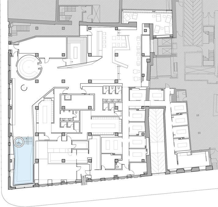 Scandinave Les Bains Vieux Montreal Picture Gallery Architecture Photography Floor Plans Architecture