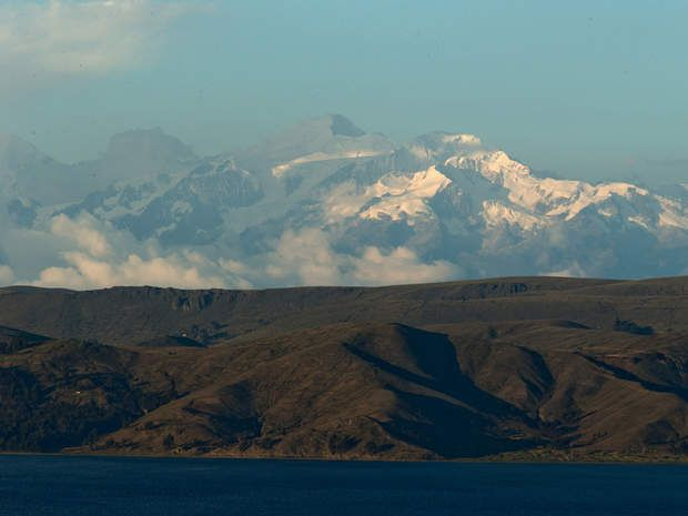 """Le """"lac des pumas de pierre"""" est le berceau de la civilisation inca, qui a rayonné sur les Andes."""