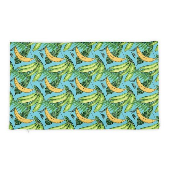Plantain Paradise Tropical Pattern Home Decor Basic Pillow Case Only - Pillow Case for Island Theme #tropicalpattern