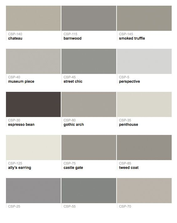 benjamin moore colors | neutral paint colors | pinterest