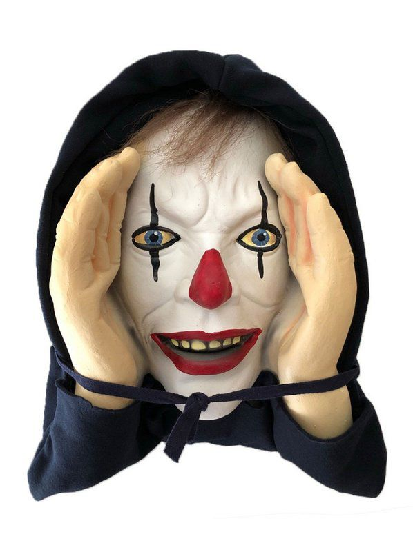 Scary Clown Butler Animated Prop Halloween Decorations For 2019 Wholesale Halloween Costumes Halloween Scary Face Scary Clowns Scary Clown Face