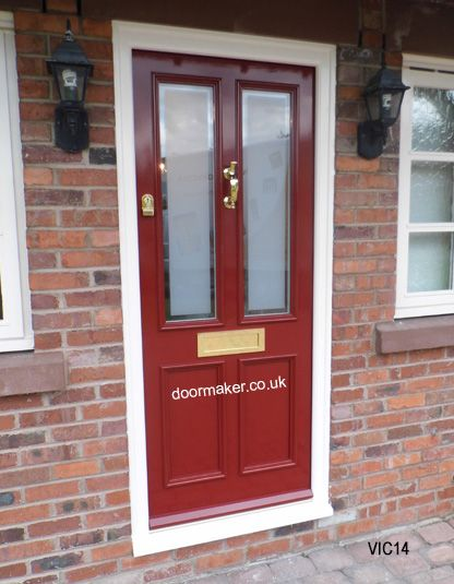 victorian front door red gloss | Victorian Georgian Edwardian ...