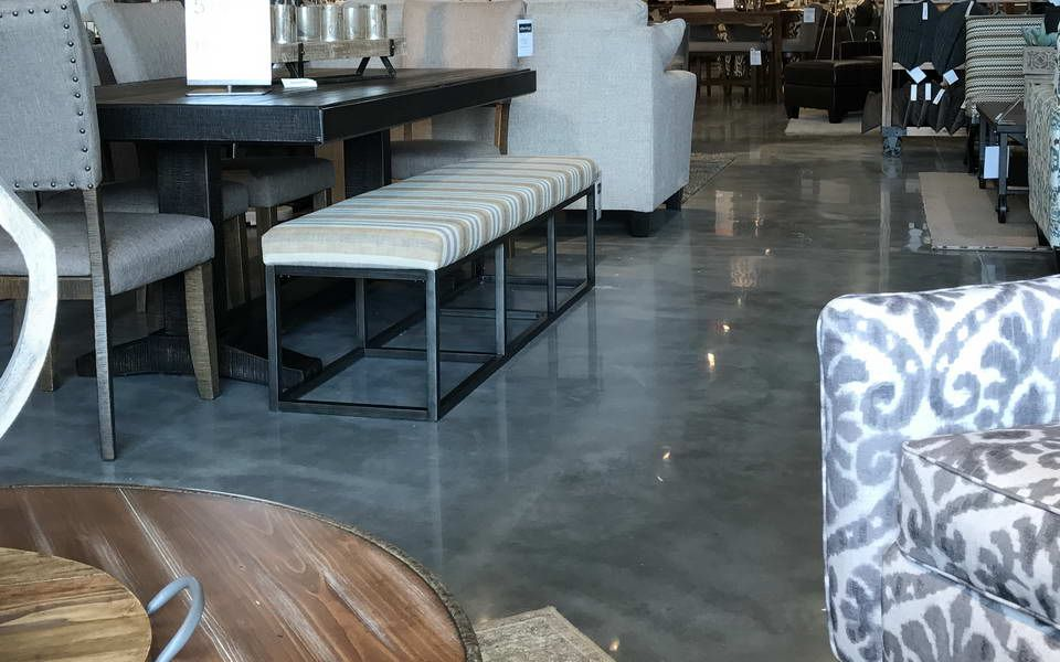 Attrayant Polished Concrete Ashley Furniture Store Gainesville Florida   Advance  Industrial Coatings