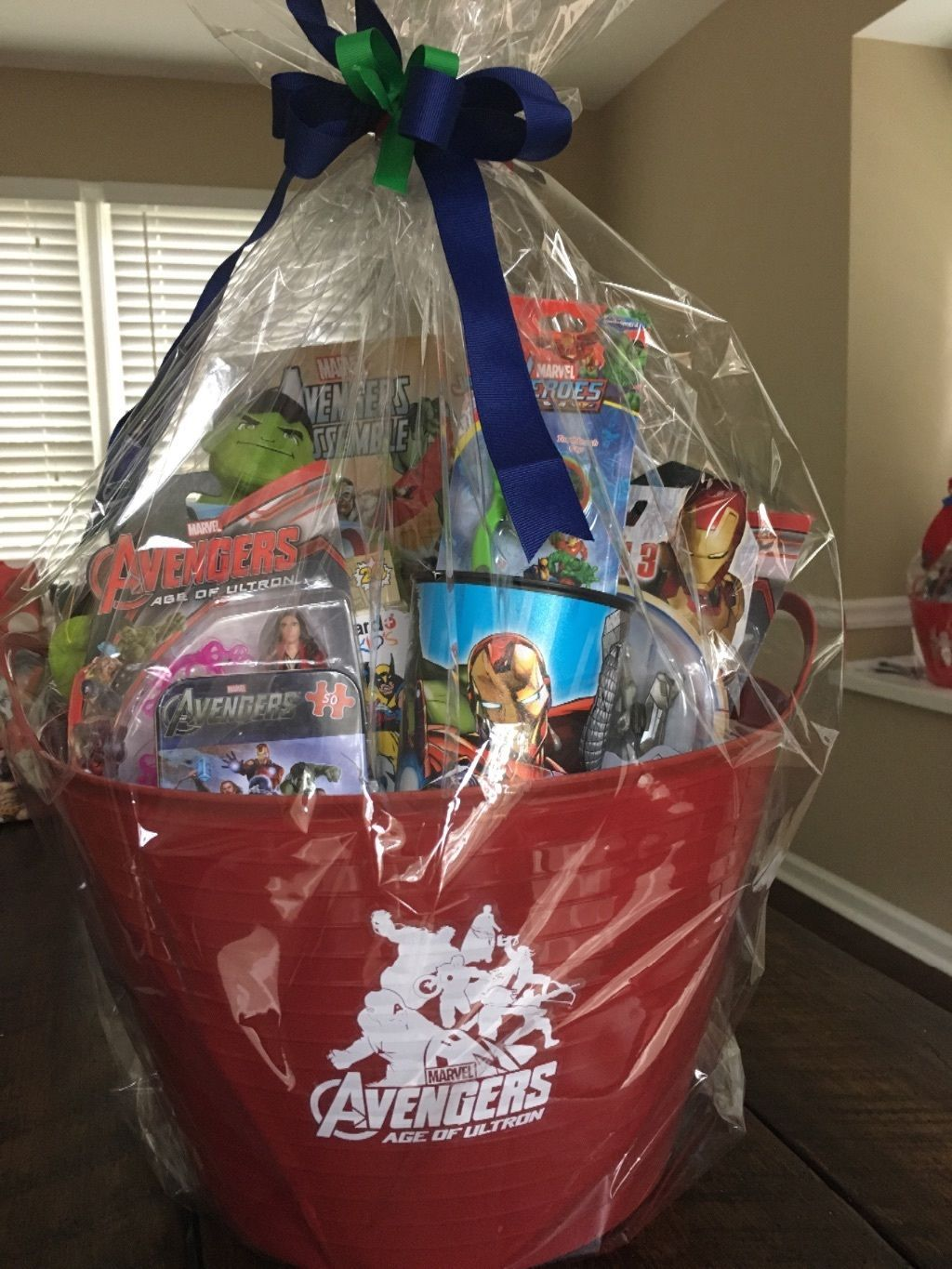 Marvel avengers ultron gift basket with 3 75 action figures ebay marvel avengers ultron gift basket with 3 75 action figures ebay negle Gallery