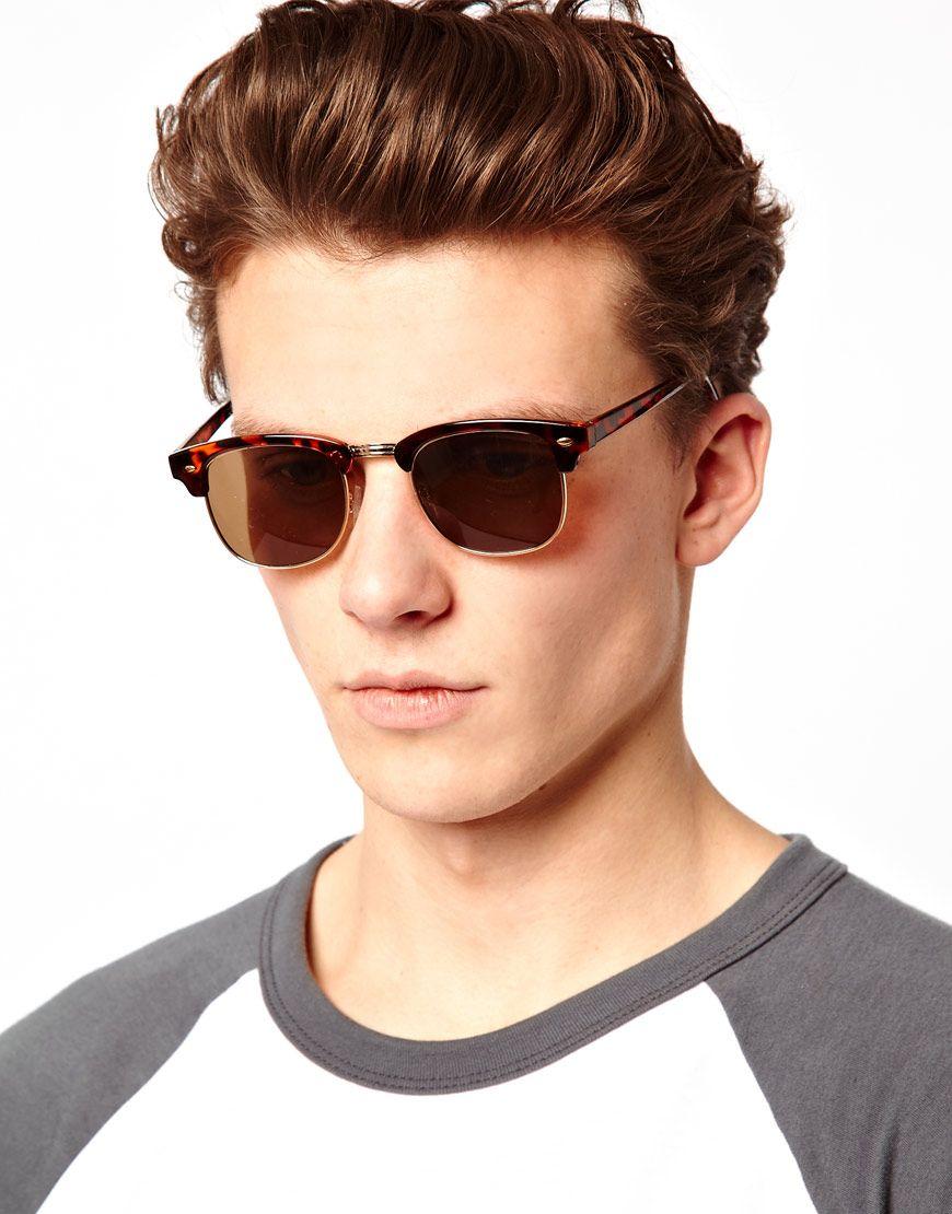 3061ad69df ... coupon code image 3 of asos tortoiseshell clubmaster sunglasses  clubmaster sunglasses mens sunglasses cheap ray ban