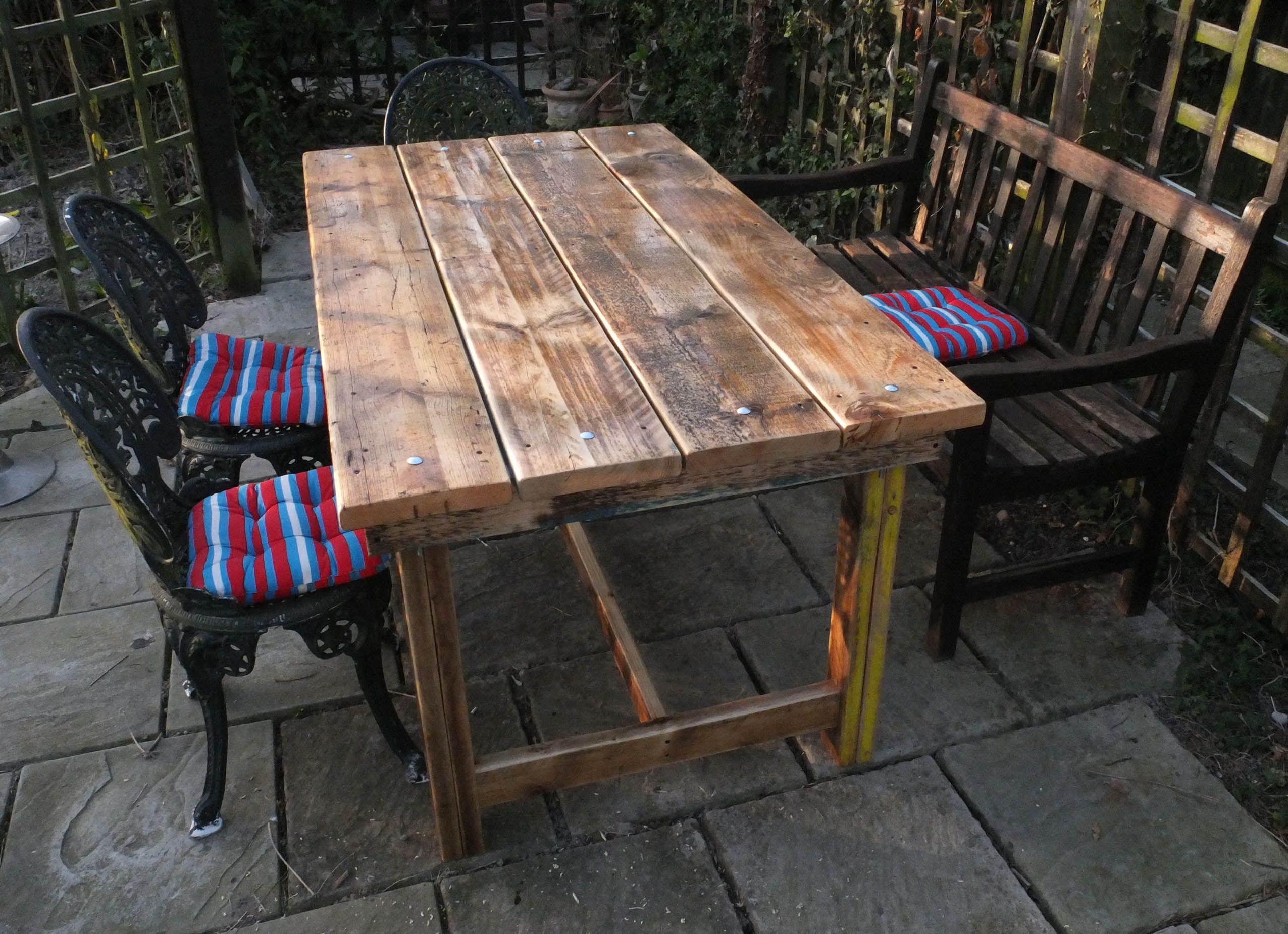 Reclaimed Garden Furniture Spring is herewell its supposed to be reclaimed timber spring is herewell its supposed to be reclaimed furniturereclaimed workwithnaturefo