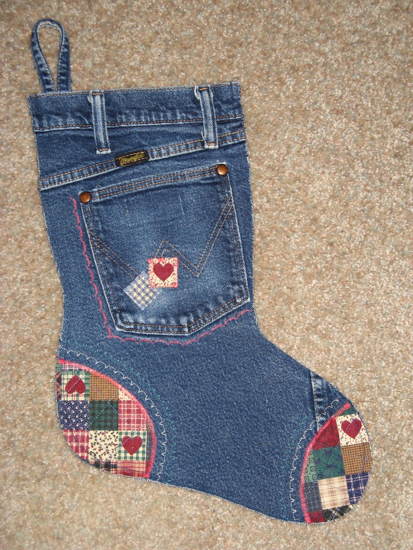 Jean Christmas Stocking