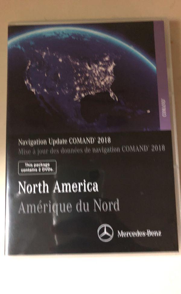 Mercedes Benze Navigation Update Command 2018