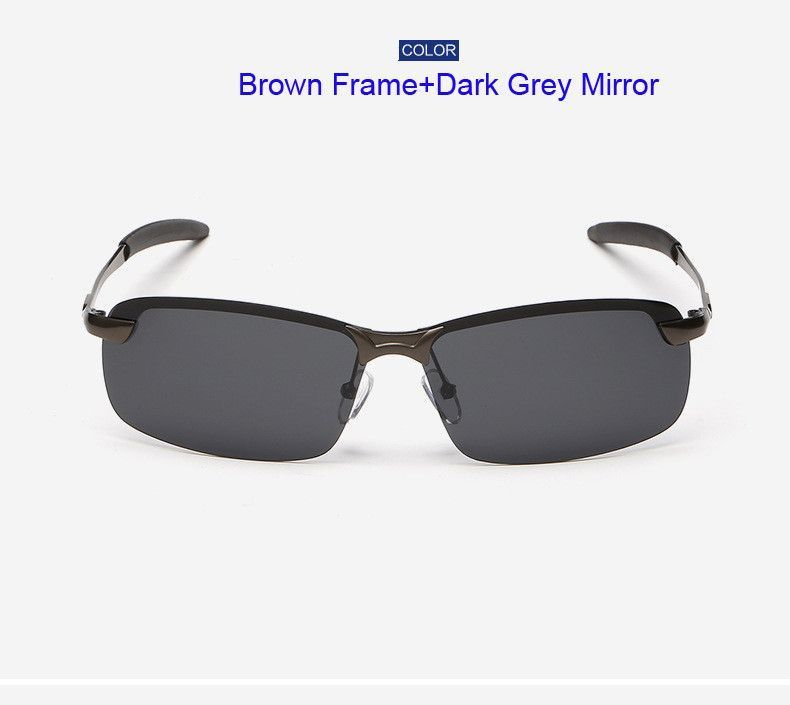 MNFT Men\'s Half Frame Fishing Sunglass Men\'s Outdoor Sports ...