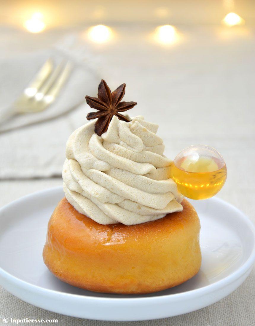 Baba au rhum mit Muscovado Chantilly - La Pâticesse - Der Patisserie Blog