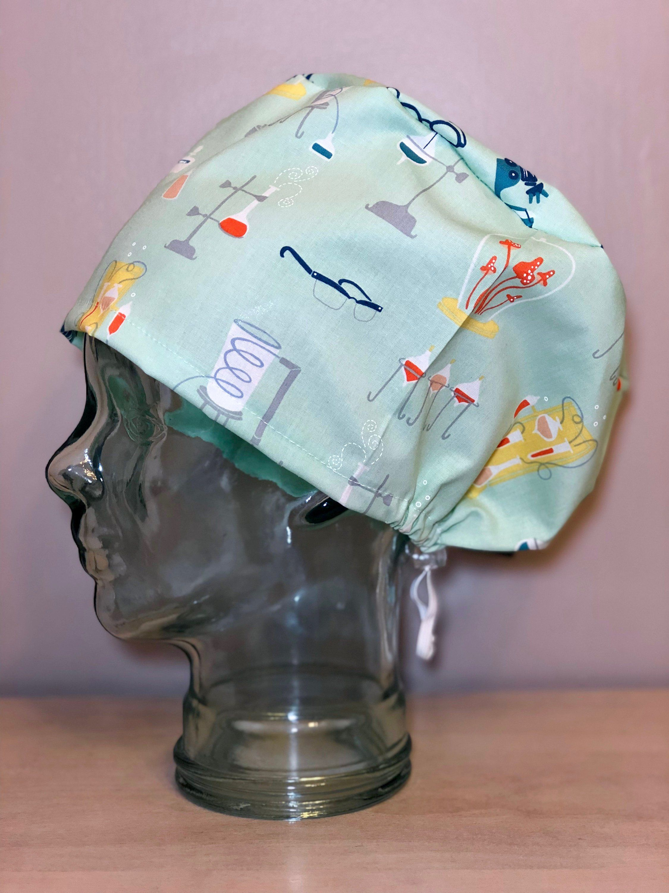 f30c44a4b94c6 She Blinded Me With Science on Mint Surgical Scrub Hat